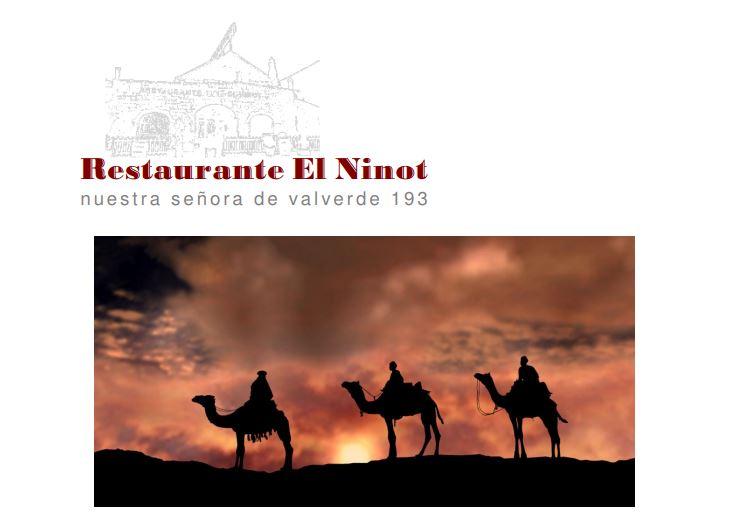 Celebra la noche de reyes con El Ninot